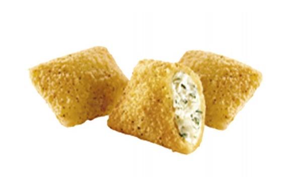 Подушечки с сыром и зеленью